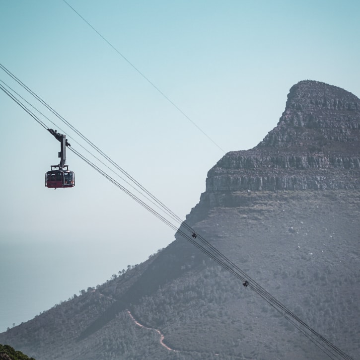 Cable Car in Southern Africa