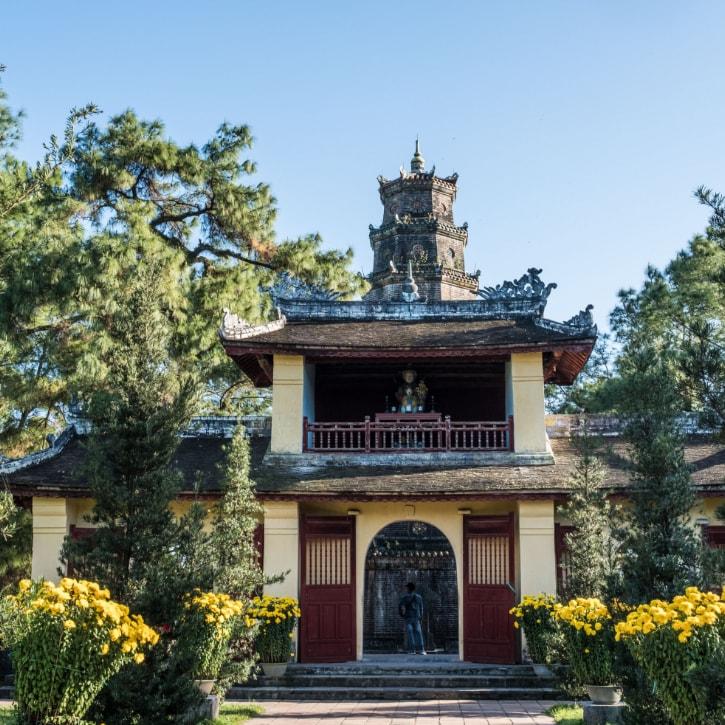 Temple in Vietnam and Cambodia