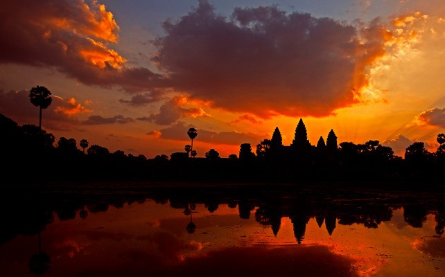 The Angkor Temples, a place of myth and legend