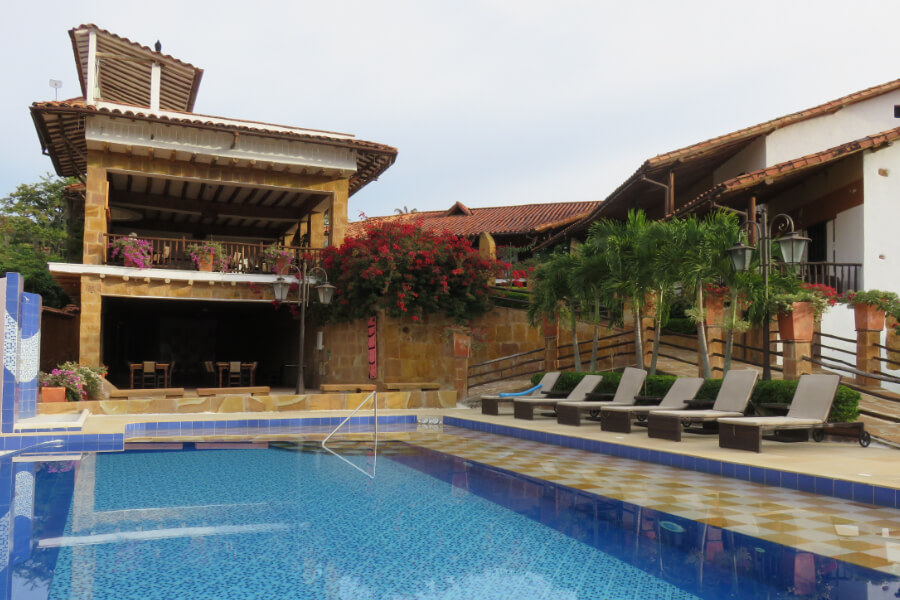 Swimming Pool at Hotel Hicasua