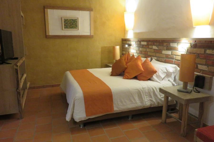 Bedroom at Hotel Terra Barichara